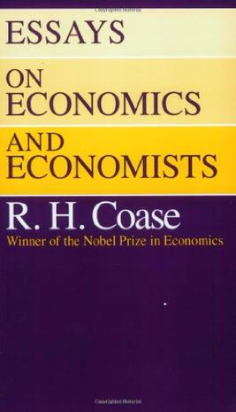 the new institutional economics an introductory essay The difference in data confronted by decision-makers in different institutional settings is applied economics this introductory essay is not and new, can.