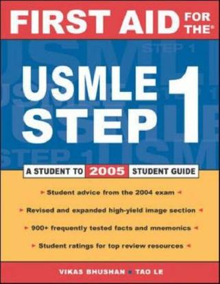 First Aid for the USMLE 2005