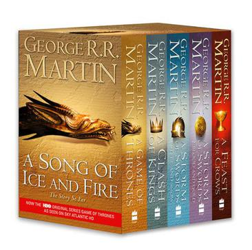 《Song of Ice and Fire Series 5Copy Boxed Set UK Edition》txt,chm,pdf,epub,mobi電子書下載