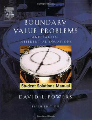 Student Solutions Manual to Boundary Value Problems, Fifth Edition