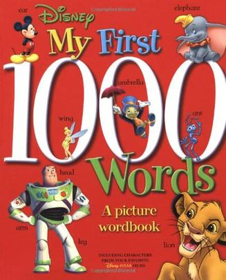 DISNEY My First 1000 Words