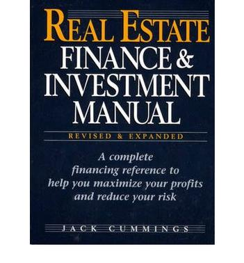 real estate finance and investment manual jack cummings pdf