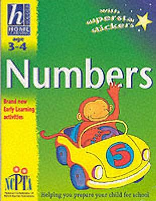 Hodder Home Learning: Age 3-4 Numbers(PB)