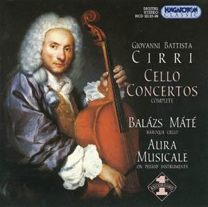Cirri: Six Cello Concertos Op.14