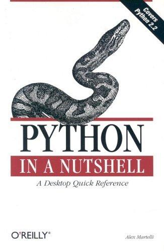 Python in a Nutshell