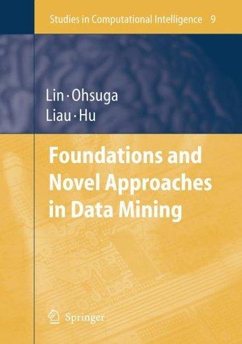 Foundations and Novel Approaches in Data Mining (Studies in Computational Intelligence)