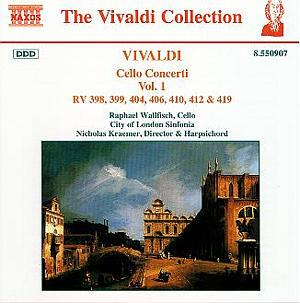 VIVALDI: Cello Concertos, Vol. 1