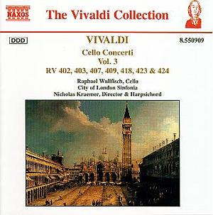 VIVALDI: Cello Concertos, Vol. 3