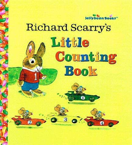 Richard Scarry's Little Counting Book (Jellybean Books(R))