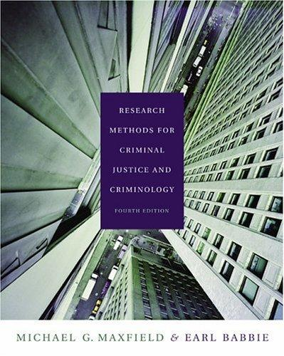 Research Methods for Criminal Justice and Criminology (with CD-ROM and InfoTrac)