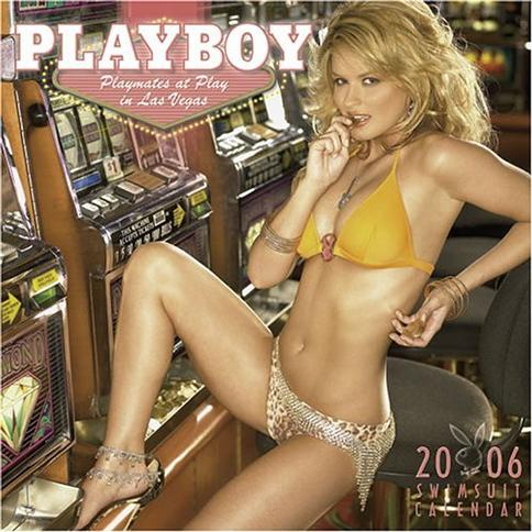Playboy Swimsuit 12 X 12 2006 16-Month Wall Calendar