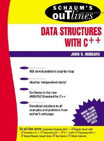 Schaum's Outline of Data Structures with C++