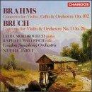 Bruch: Concerto for violin in Gm; Brahms: Concerto in Am Op102