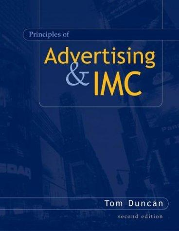Principles of Advertising & IMC w/ AdSim CD-ROM