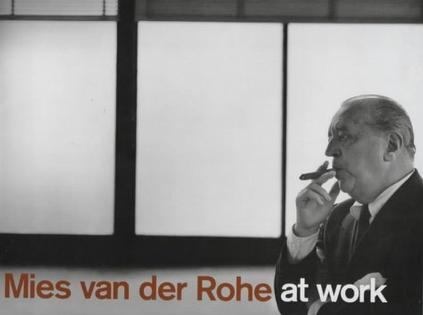 Mies Van Der Rohe At Work