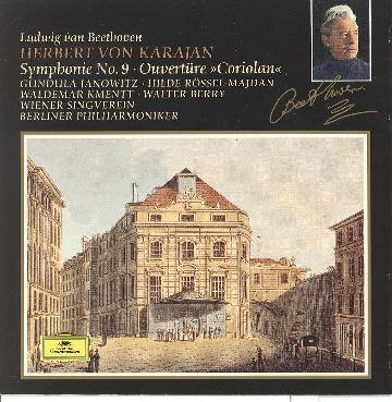 "Beethoven: Symphony No.9 / Overture ""Coriolan"""