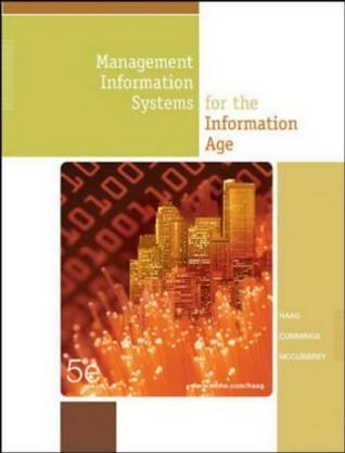 Management Information Systems for the Information Age, Fifth Edition