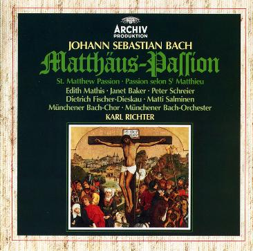 Bach: St. Matthew Passion - Karl Richter - 1979