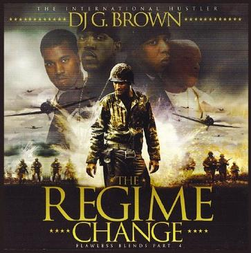 Kanye West, Lloyd Banks, Jay-Z & Jadakiss present THE REGIME CHANGE [Mixtape] [Limited Edition]