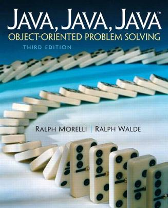 Java, Java, Java, Object-Oriented Problem Solving (3rd Edition)