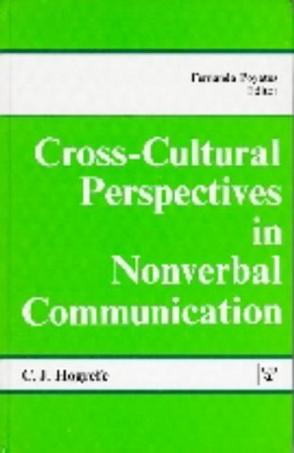 Cross Cultural Perspectives in Non-Verbal Communication
