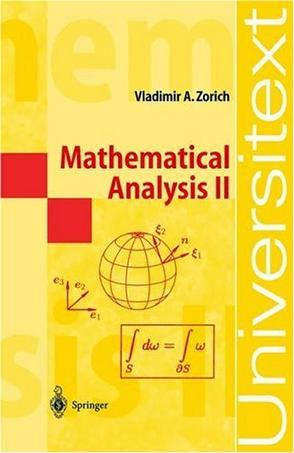Mathematical Analysis II (Universitext)