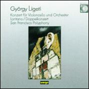 Ligeti: Cello Concerto; San Francisco Polyphony; etc.