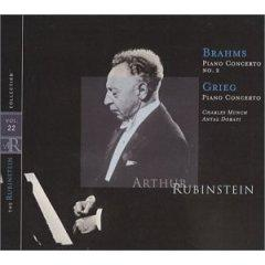 The Rubinstein Collection Vol.22 - Brahms: Piano Concerto No.2 / Grieg: Piano Concerto