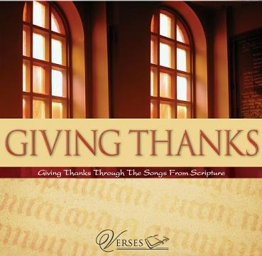 Verses: Giving Thanks
