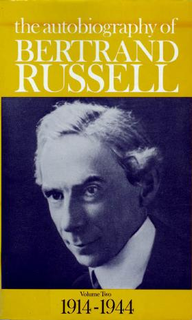 The Autobiography of Bertrand Russell Vol.2 1914-1944