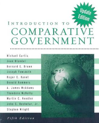 Curtis' Introduction to Comparative Government
