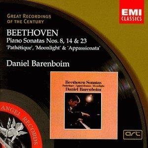Great Recordings Of The Century - Beethoven: Piano Sonatas nos. 8, 14 & 23 / Barenboim