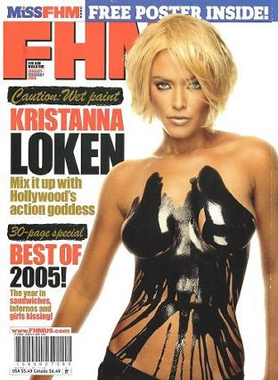 FHM - For Him Magazine - January/February 2006 issue