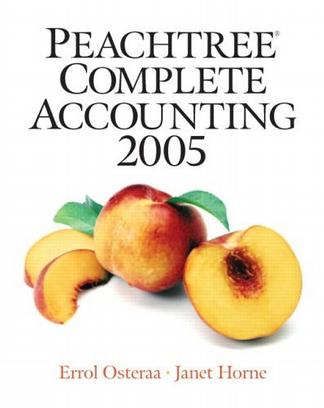 Peachtree Complete Accounting 2005 (2nd Edition)
