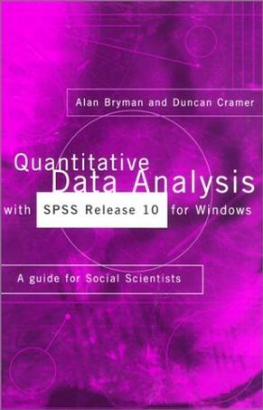 Quantitative Data Analysis with SPSS Release 10 for Windows