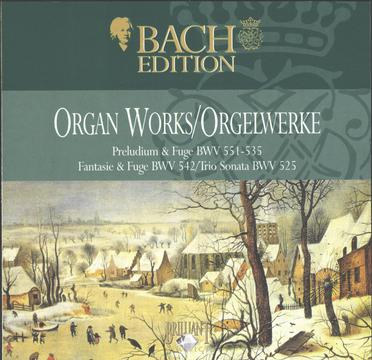 J.S.Bach: The Complete Organ Works CD4