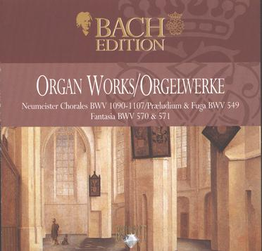 J.S.Bach: The Complete Organ Works II CD1