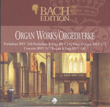 J.S.Bach: The Complete Organ Works II CD5