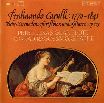 Carulli - 6 Serenades for flute and guitar