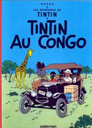 Tintin Au Congo (Book is NOT Bilingual) (Tintin)
