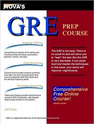 GRE Prep Course with Online Course