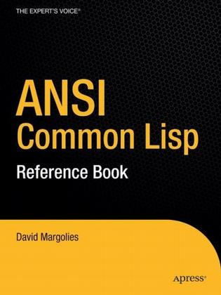 The ANSI Common Lisp Reference Book