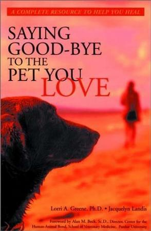 Saying Good-Bye to the Pet You Love