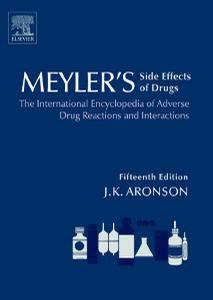 Meyler's Side Effects of Drugs (15th Edition)