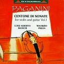 Paganini: Centone di Sonate for violin and guitar, Vol. 1