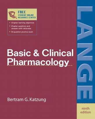Basic & Clinical Pharmacology ninth edition (LANGE Basic Science)