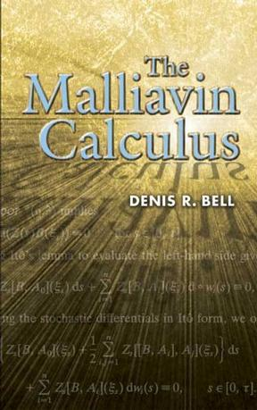 The Malliavin Calculus (Dover Books on Mathematics)