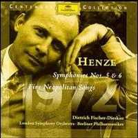 Henze - Symphonies Nos 5, 6, Five Neapolitan Songs