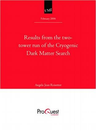 Results from the two-tower run of the Cryogenic Dark Matter Search