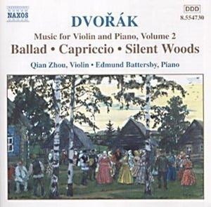 Dvorák: Music for Violin and Piano, Vol. 2